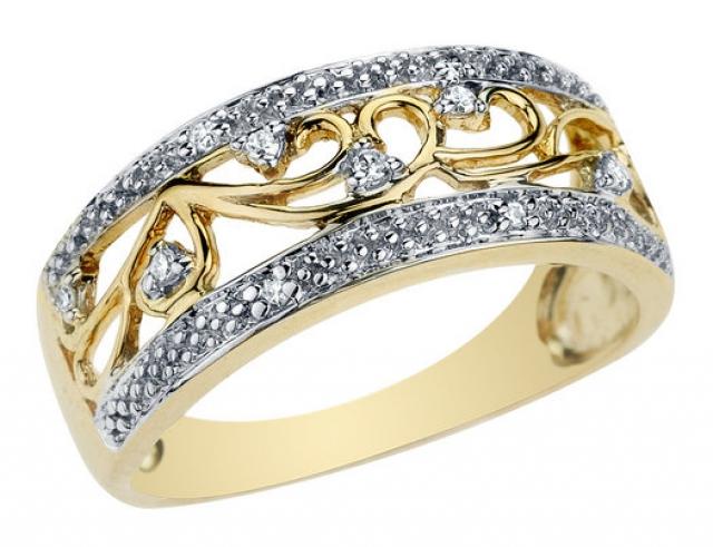 Оригинальные кольца фото 3